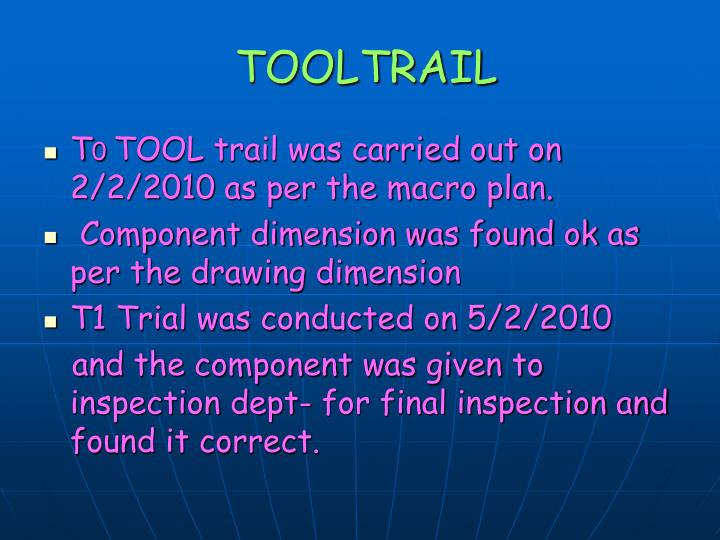 TOOLTRAIL