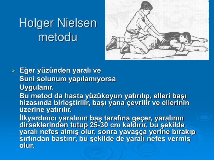 Holger Nielsen metodu