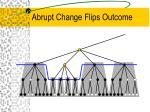 abrupt change flips outcome