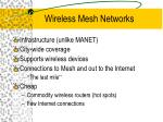 wireless mesh networks1