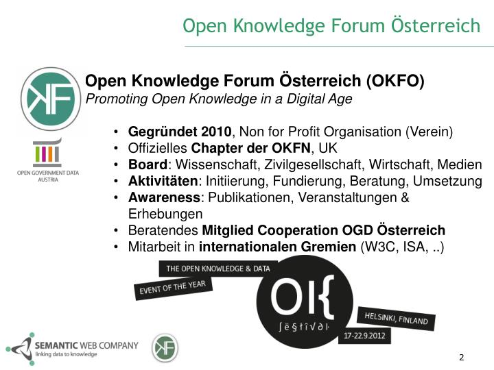 Open Knowledge Forum Österreich