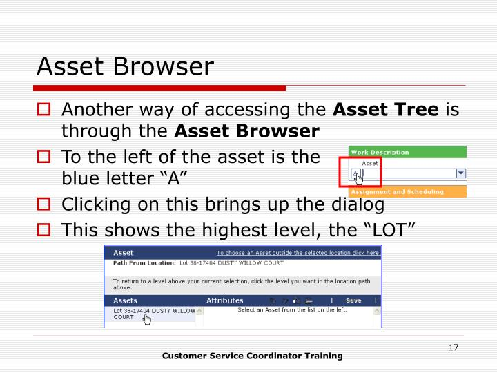 Asset Browser