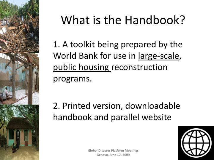 What is the Handbook?