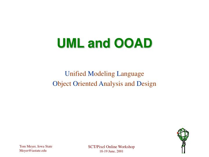 Uml and ooad