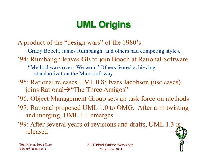 UML Origins
