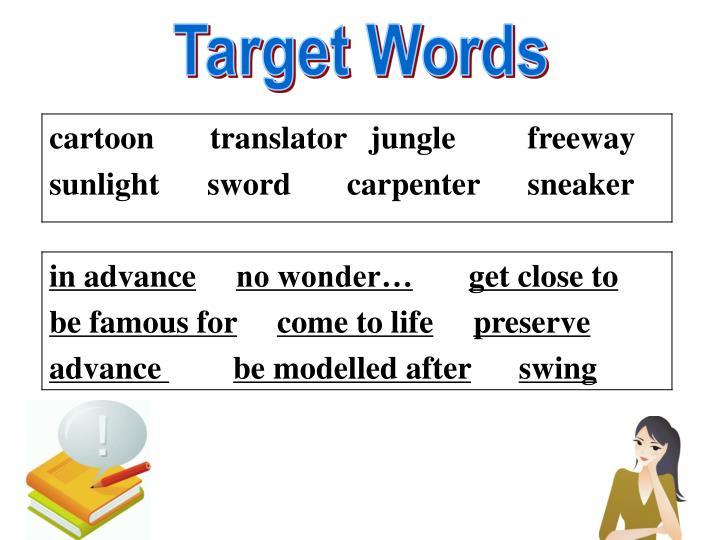 Target Words
