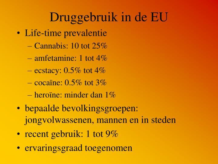 Druggebruik in de EU
