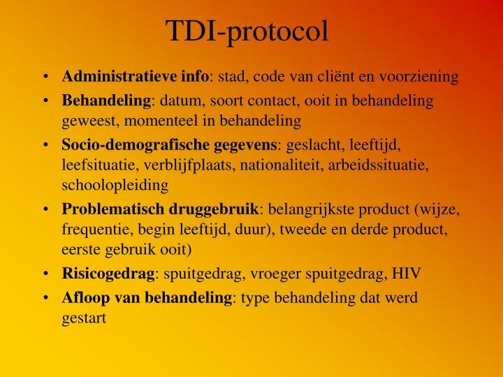 TDI-protocol