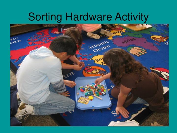 Sorting Hardware Activity