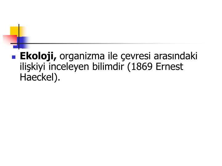 Ekoloji,