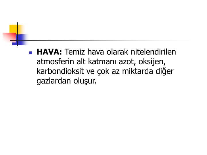 HAVA: