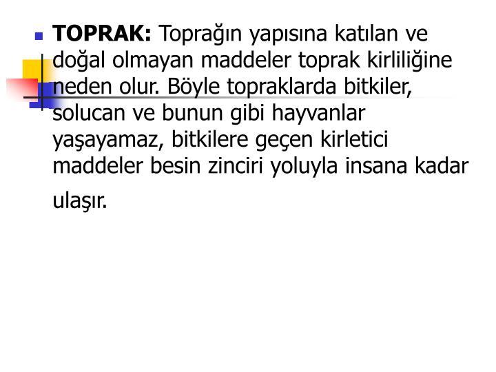 TOPRAK: