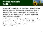 process definition workflow