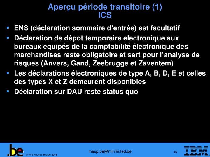Aperçu période transitoire (1)