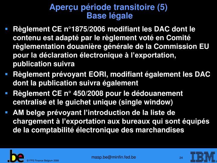 Aperçu période transitoire (5)