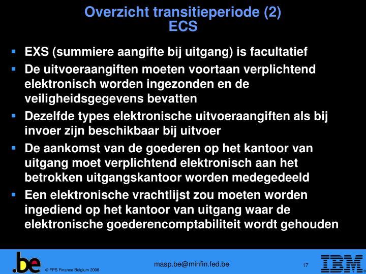 Overzicht transitieperiode (2)