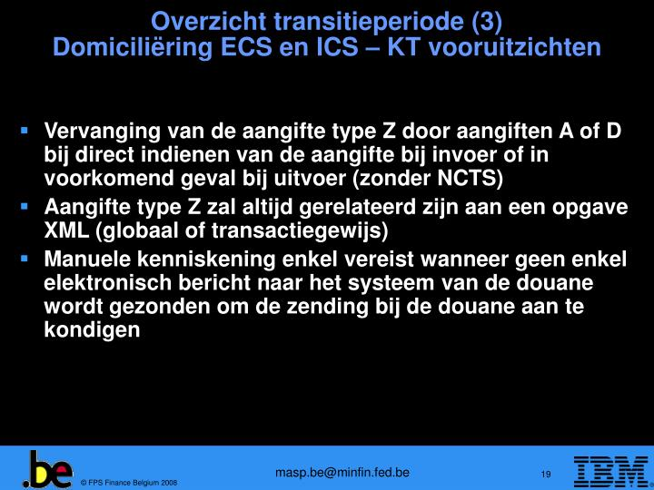Overzicht transitieperiode (3)