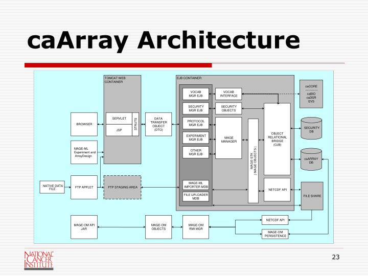 caArray Architecture