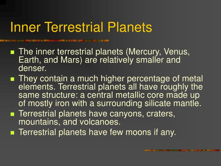 terrestrial planets have moons - photo #31