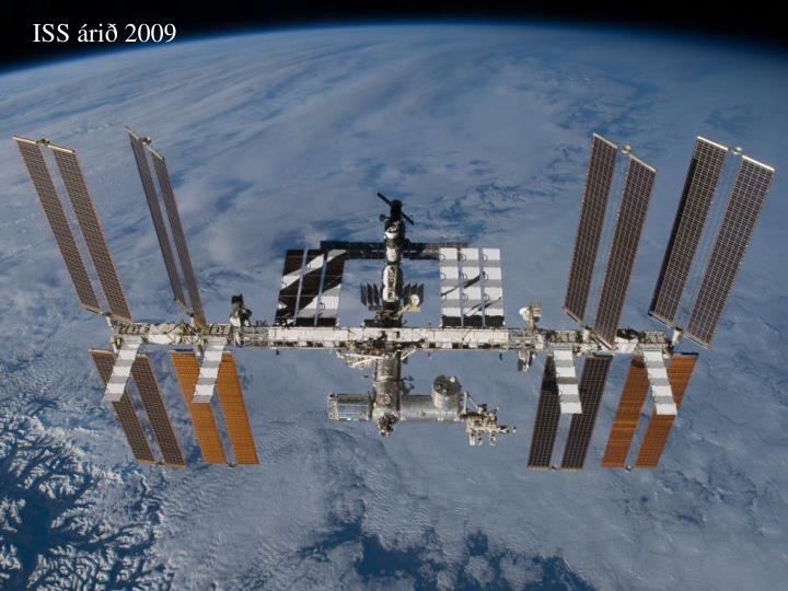 ISS árið 2009