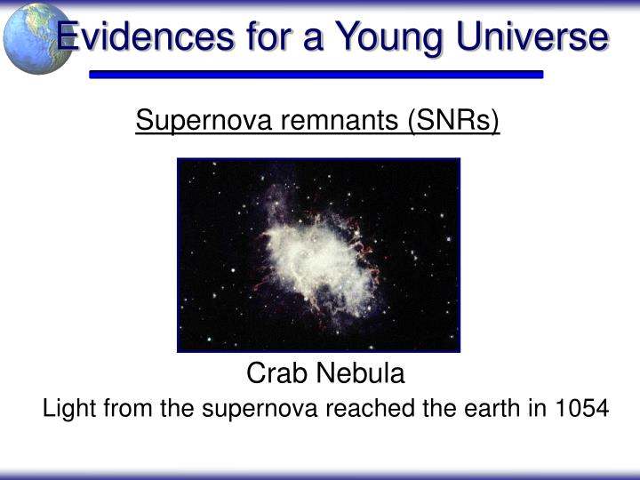 Evidences for a Young Universe