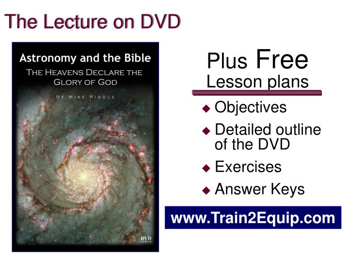 The Lecture on DVD