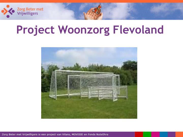 Project Woonzorg Flevoland