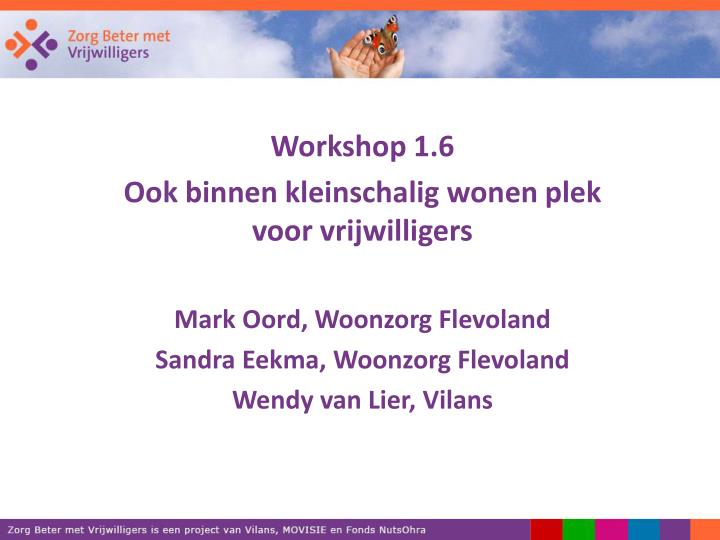 Workshop 1.6