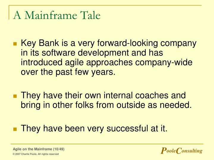 A Mainframe Tale