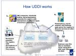 how uddi works