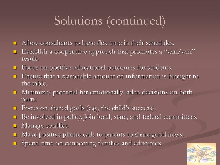 Solutions (continued)