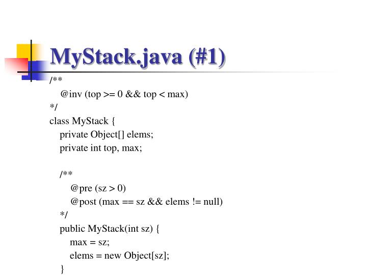MyStack.java (#1)