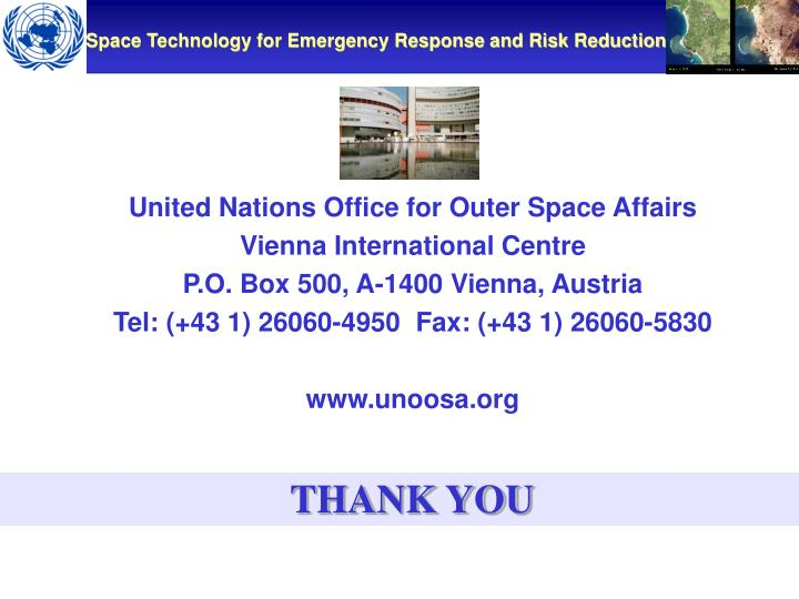 United Nations Office for Outer Space Affairs