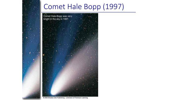 Comet Hale Bopp (1997)