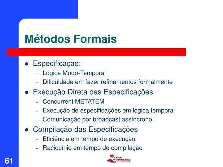 Métodos Formais