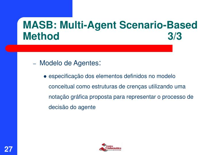 MASB: Multi-Agent Scenario-Based Method3/3