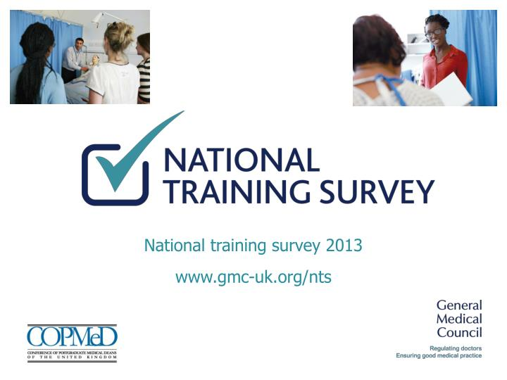 National training survey 2013