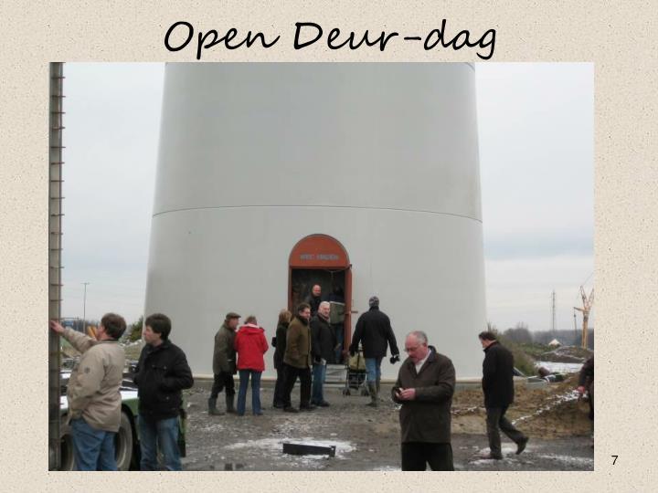 Open Deur-dag