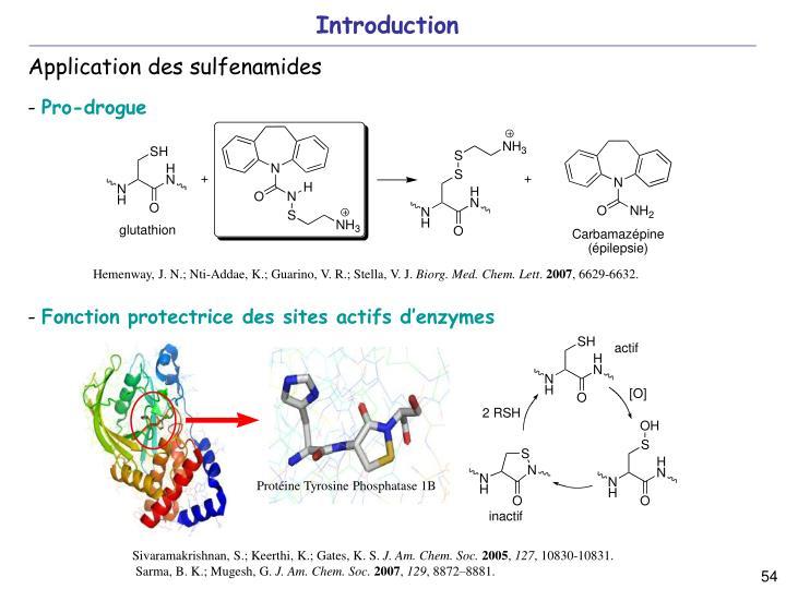 Fonction protectrice des sites actifs d'enzymes