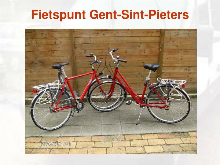 Fietspunt Gent-Sint-Pieters