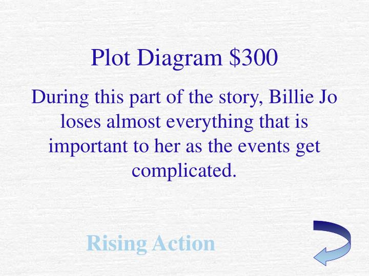 Plot Diagram $300