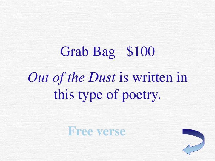 Grab Bag   $100