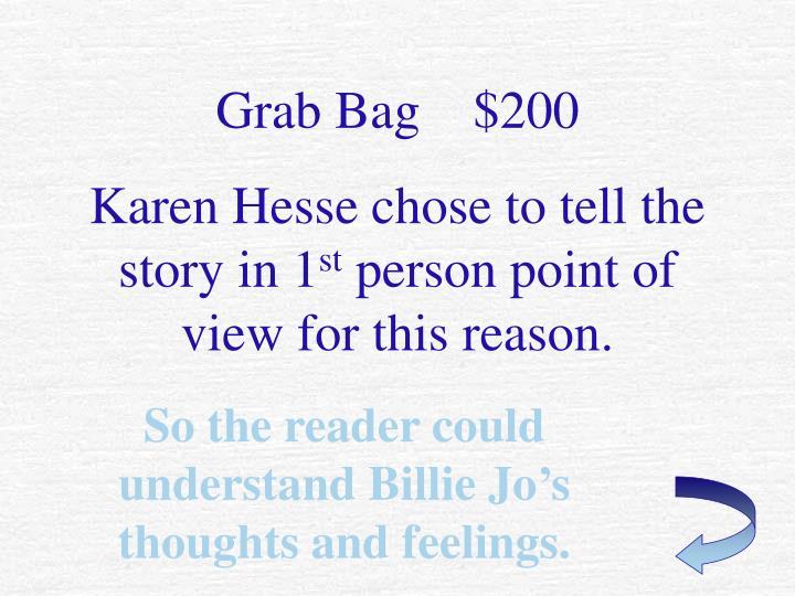Grab Bag    $200