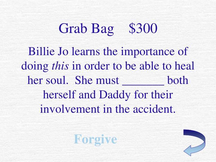 Grab Bag    $300