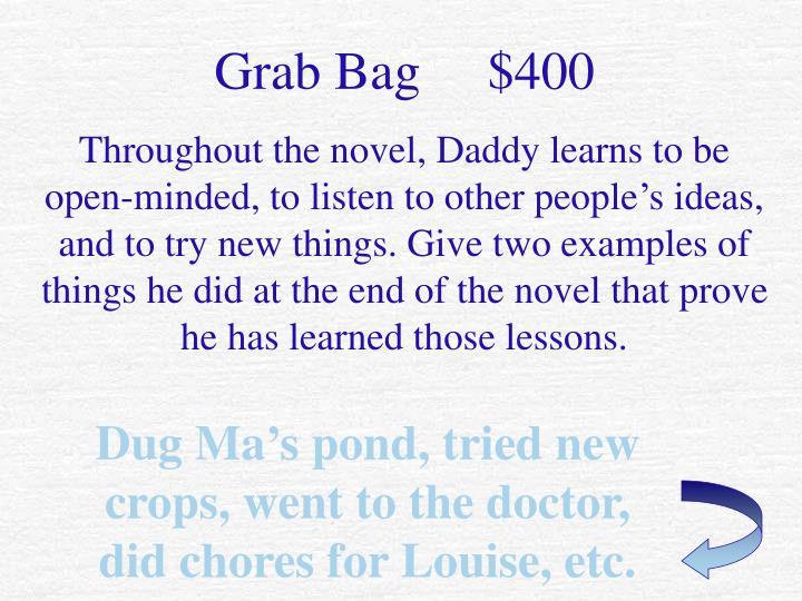 Grab Bag     $400