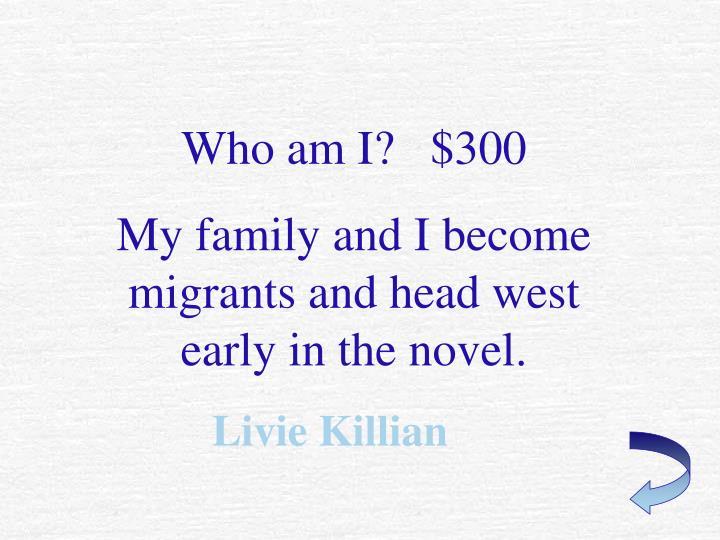 Who am I?   $300