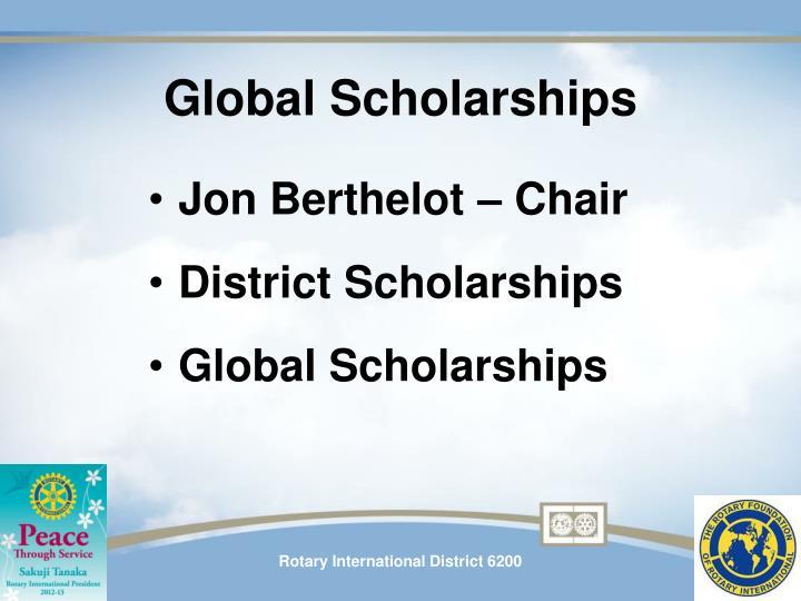 Global Scholarships