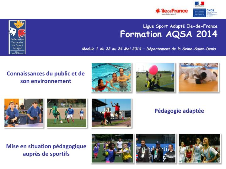 Ligue Sport Adapté Ile-de-France