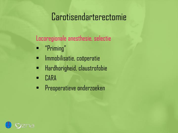 Carotisendarterectomie