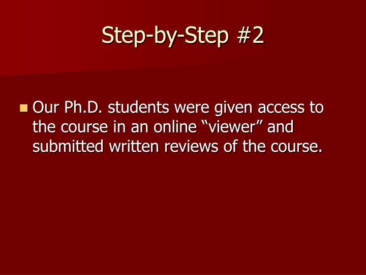 Step-by-Step #2